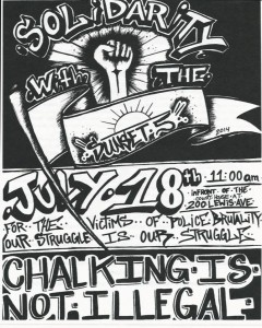LVChalkPoliceStateFlyerF 240x300 Join Us For the 2nd Annual Chalk the Police State   July 18th