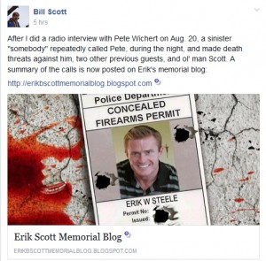 ErikScottFather 300x295 Death Threats Received After Interview of Erik Scotts Father