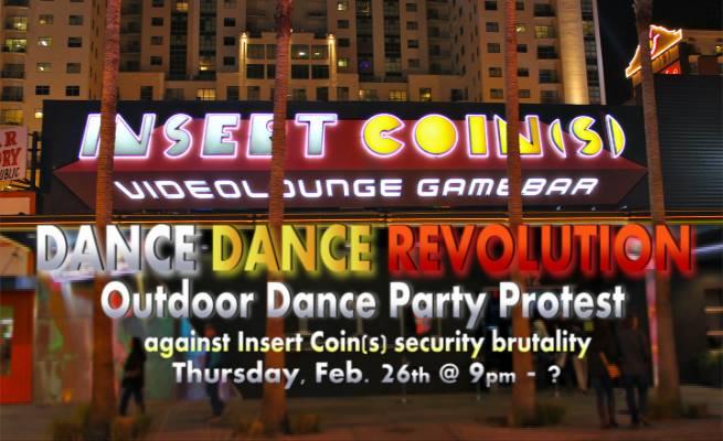 Dance Dance Revolution at Insert Coins