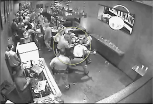Members of the LVMPD beat a man in downtown Las Vegas because he supposedly didn't walk fast enough.